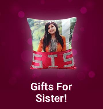 Bhai Dooj Gifts for Sister Online