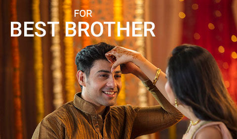 Bhaidooj gifts for brother