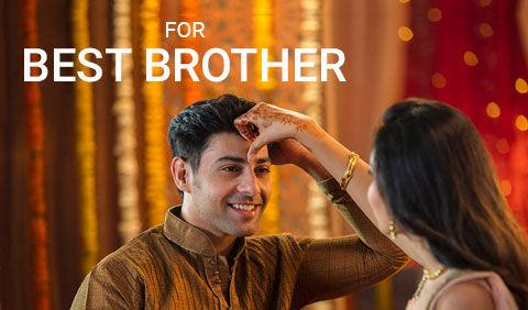Bhaidooj gifts for brother