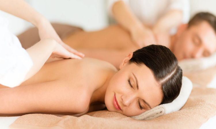 Relaxing Couple Spa