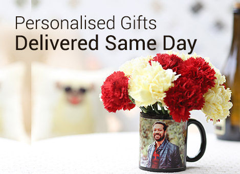same day delivery personalised gifts