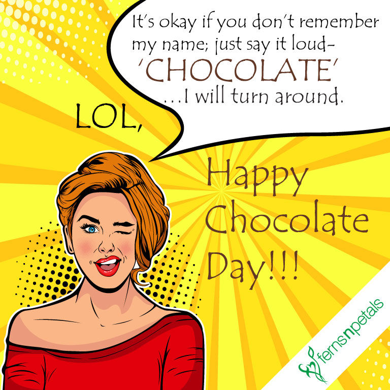 funny chocolate day creatives