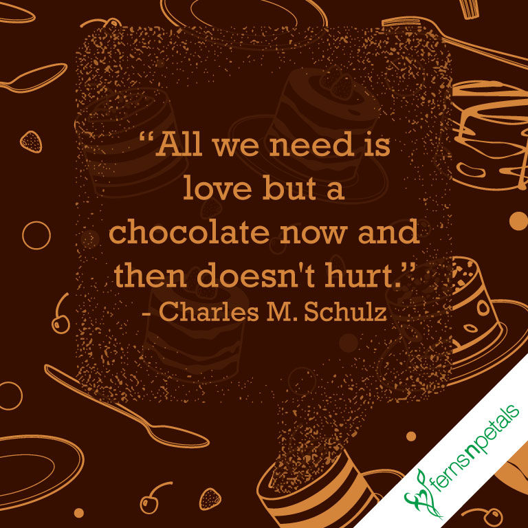 chocolate day quotes for bf