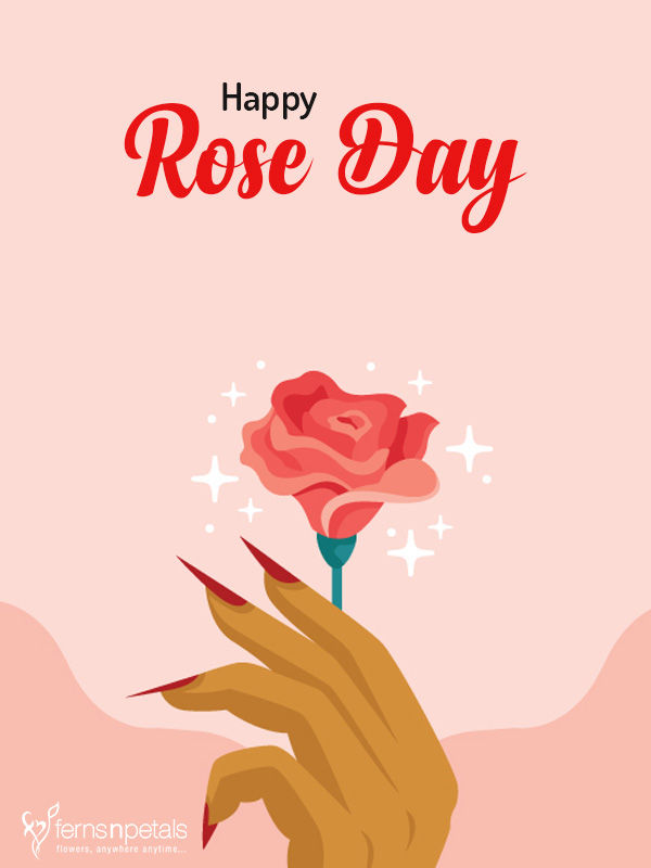 wishing graphic for rose day