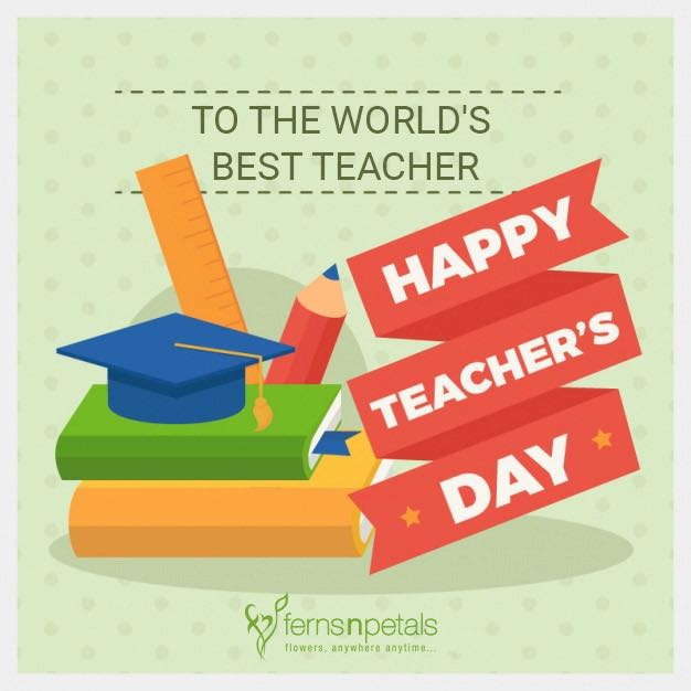 Teacher's Day Wishes online