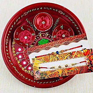 Aussie Bhai Rakhi with Traditional Thali: Send Rakhi to Sydney