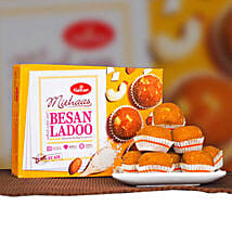 Delicious Besan Ladoo 400g: Birthday Gifts Adelaide