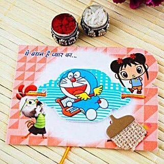 Doraemon kids Rakhi: Send Rakhi to Adelaide
