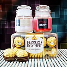 Ferrero Rocher With Fragrant Candles: Diwali Gifts to Australia