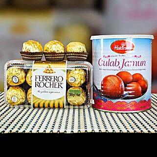 Ferrero Rocher With Gulab Jamun: Sending Chocolates to Australia