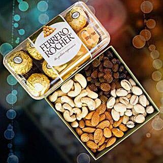 Ferrero Rocher With Mix Dry Fruits: Sending Chocolates to Australia