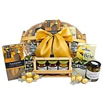 Gourmet Sweet N Savory Hamper: Send Gift Baskets to Australia
