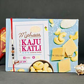 Lava Stone Rakhi With Kaju Katli: All Rakhi Australia