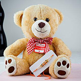 Pyare Bhaiya Rakhi With Teddy Bear: Rakhi to Adelaide