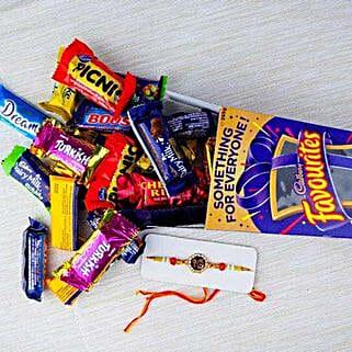 Rakhi with Cadbury Favourite: Send Rakhi to Adelaide