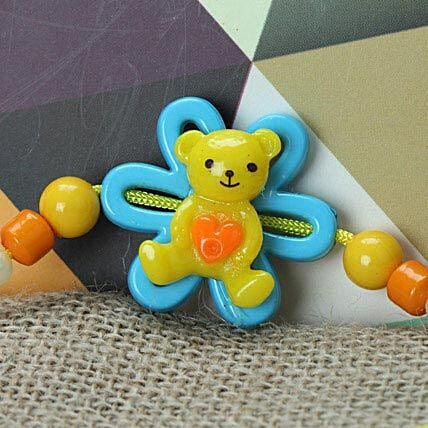 Cute Little Teddy Rakhi BAN