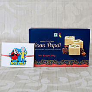 Kids Rakhi Sweet Hamper: Rakhi Gifts to Belgium