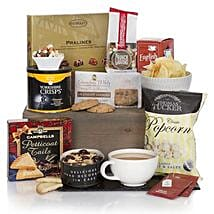 Gourmet Delights Hamper: Send Rakhi to Brazil