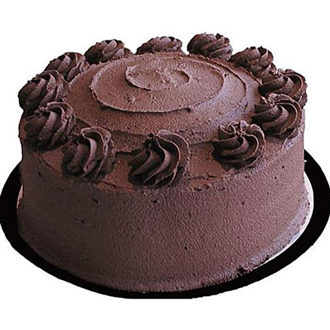 Eggless Chocolate Layer Cake