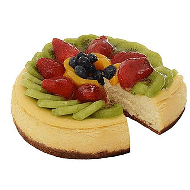 Fresh Fruit Cheese Cake