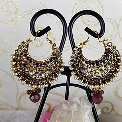Graceful Antique Earrings