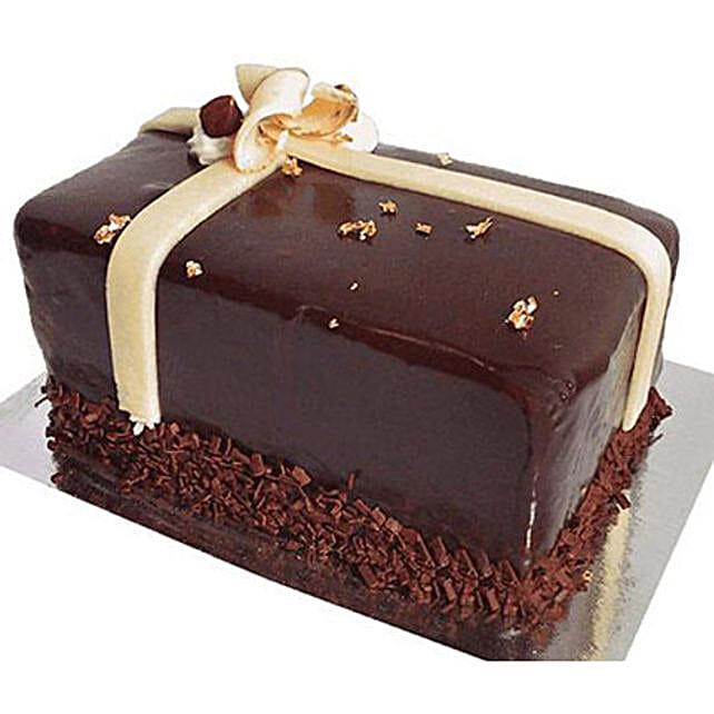 Half Kg Chocolate Sponge Cake