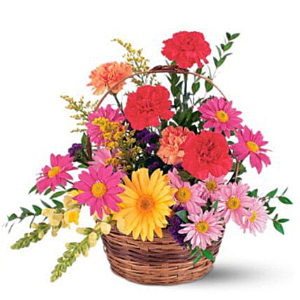Pretty Flower Basket