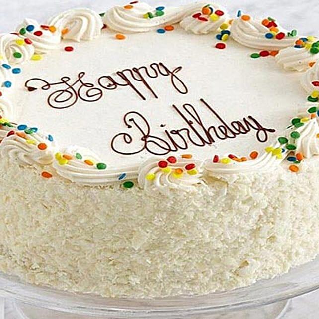 Routine Vanilla Cake