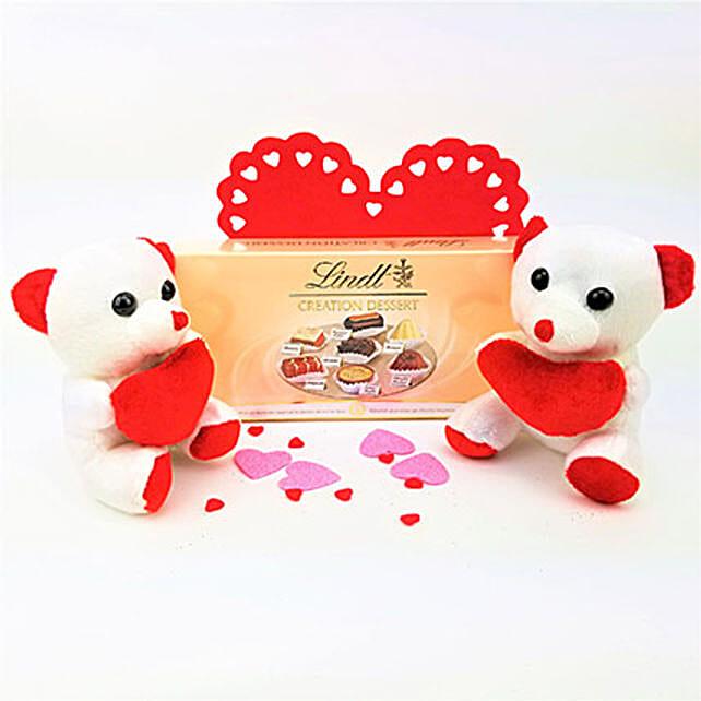 Valentine Lindt Dessert N Teddy Combo