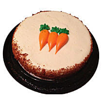 Carrot Cake Half Kg: Send Thank You Gifts to Canada