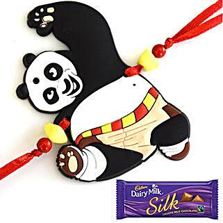 Choco Panda Rakhi: Send Rakhi for Kids to Canada