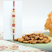 Colorful Rakhi With Almond:
