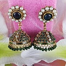 Embellished Antique Earrings: Mother's Day Gift Delivery in Canada