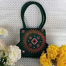 Ethnic Green Purse: Mother's Day Gifts to Canada