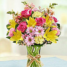 Fields of Europe for Spring: Send Birthday Flowers to Canada