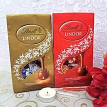 Mix Lindt With Diyas N Roli Tikka: Chocolate Gift Baskets in Canada