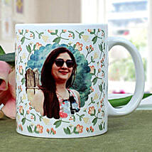Personalised Woman Power Photo Mug: Women's Day Gifts to Canada
