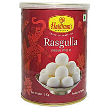Squeezy Rasgulla 1 Kg: Diwali Gift Delivery Canada