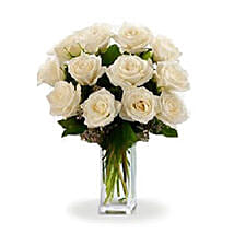White Roses: Miss You Flowers to Canada