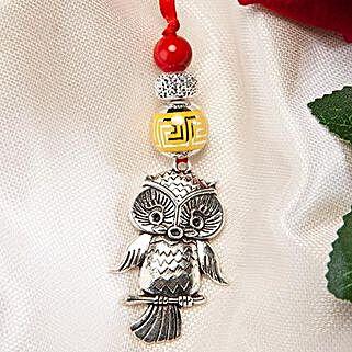 Trendy Owl Lumba Rakhi: Rakhi Delivery in China