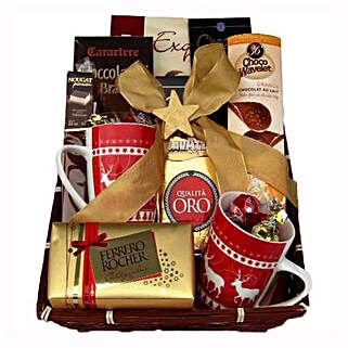 Coffee with Monika Christmas Gift Basket: Send Gifts to Denmark