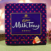 Kids Rakhi Cadbury Milk Chocolate Hamper: Send Rakhi to Denmark