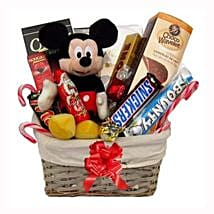 Christmas With Mickey Mouse: Send Gifts to Finland