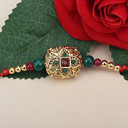Traditional Antique Rakhi FRA