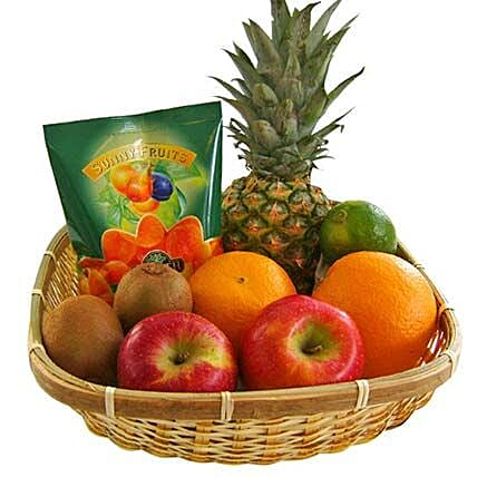 Our Fruity Gift Basket