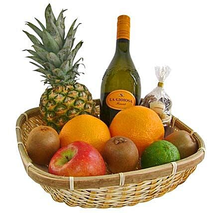 Our Healthy and Fruity Gift Basket