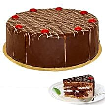 Dessert Blackforest Cherry Cake: Send Cakes to Dusseldorf