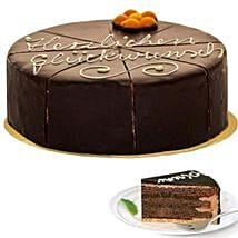 Dessert Sacher Cake: Send Birthday Gifts to Germany