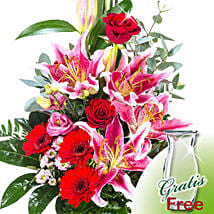 Flower Bouquet Majestic: Birthday Gifts Delivery in Germany
