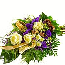 Kind Condolences Bouquet: Thank You Flowers Germany